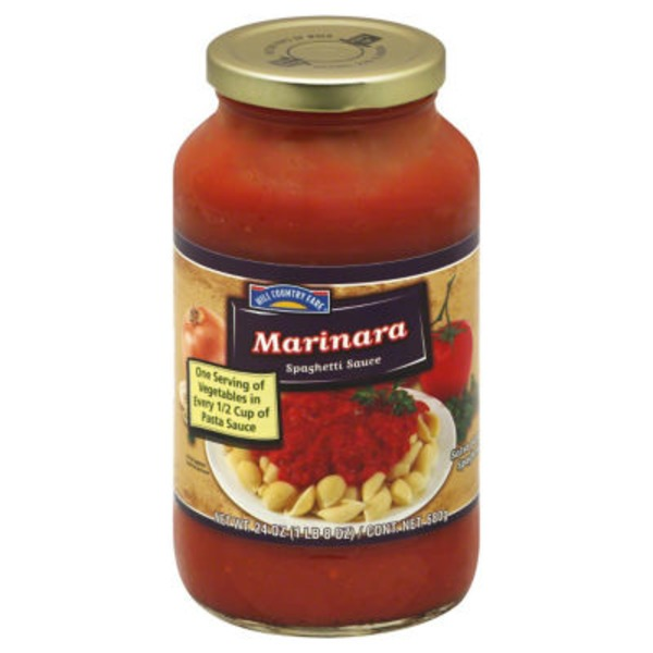 Hill Country Fare Marinara Spaghetti Sauce