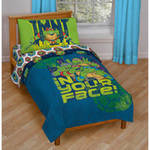 Nickelodeon Teenage Mutant Ninja Turtles In Your Face 4-Piece Toddler Bedding Set