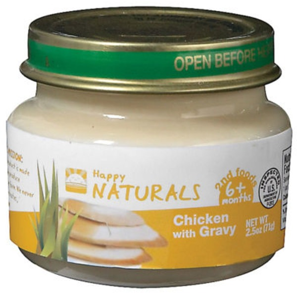 Happy Naturals 2nd Foods Chicken With Gravy