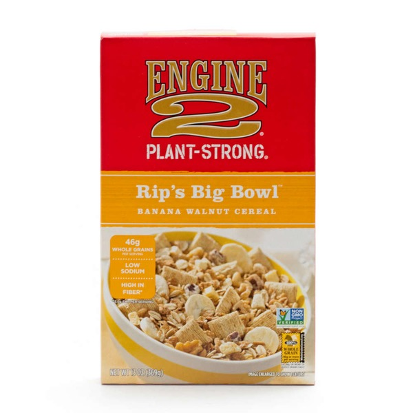 Engine 2 Rip's Big Bowl Banana Walnut Cereal