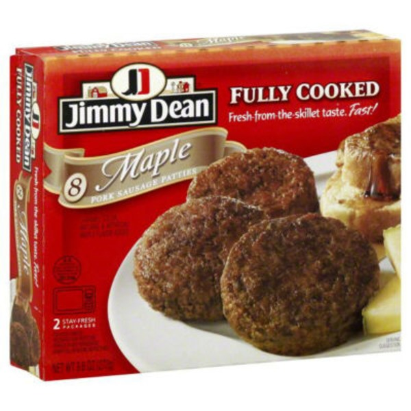 Jimmy Dean Maple Pork Sausage Patties