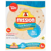 Mission Carb Balance Medium Soft Taco Flour Tortillas