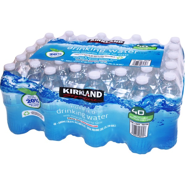 Kirkland Signature Premium Bottled Drinking Water