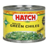 Hatch Green Chilis, Chopped, Fire Roasted, Gluten Free, Can