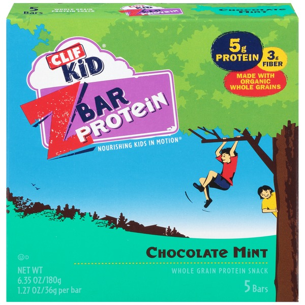 Clif Kid® Chocolate Mint ZBar Protein