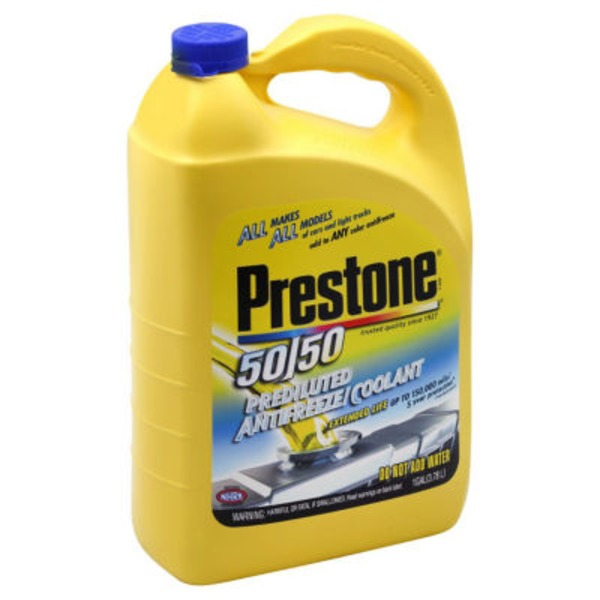 Prestone 50/50 Extended Life Prediluted AF2100 Antifreeze/Coolant