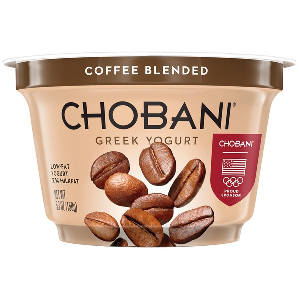 Chobani Coffee Blended Low-Fat Greek Yogurt