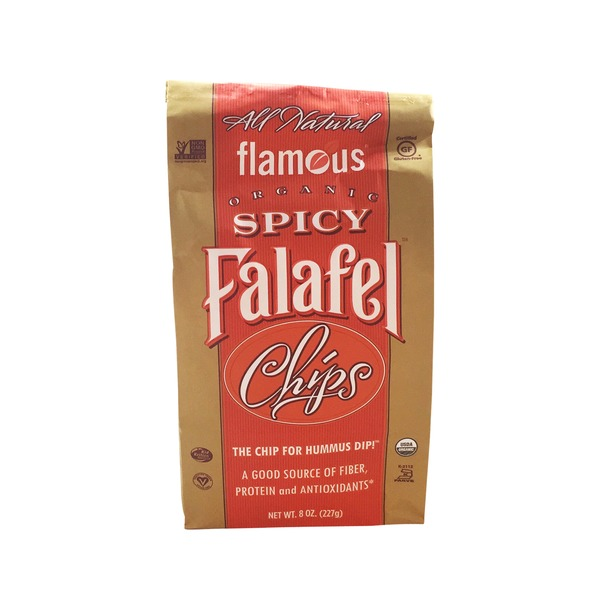 Flamous Organic Spicy Falafel Chips