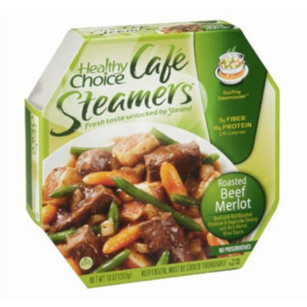 Healthy Choice Beef Merlot Cafe Steamers