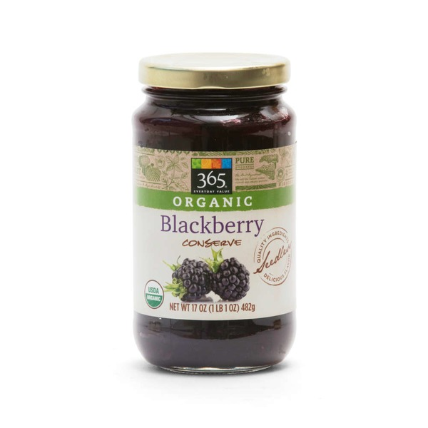 365 Organic Blackberry Conserve