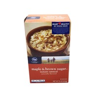 Kroger Oatmeal Instant Maple & Brown Sugar