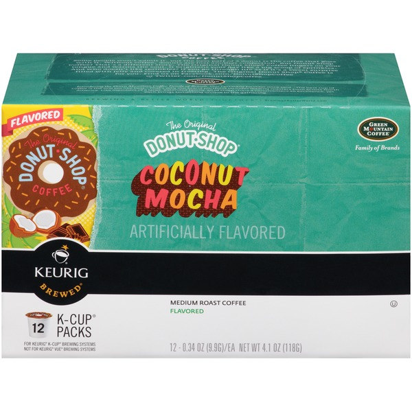 The Original Donut Shop Coconut Mocha K-Cup Packs Coffee