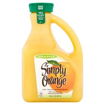 Simply High Pulp Orange Juice, 89 fl oz