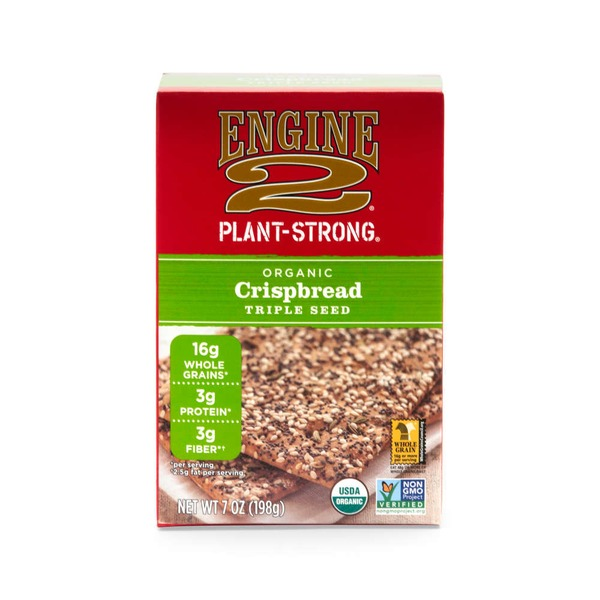 Engine 2 Plant Strong Organic Triple Seed Crispbread