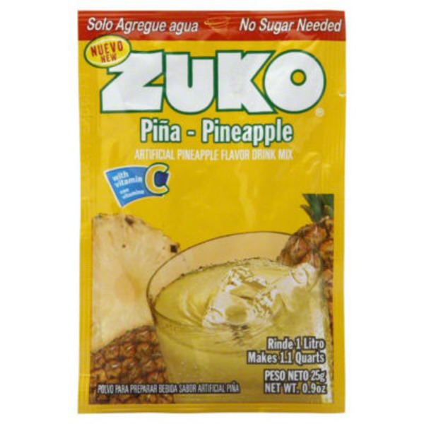Zuko Artificial Pineapple Flavor Drink Mix
