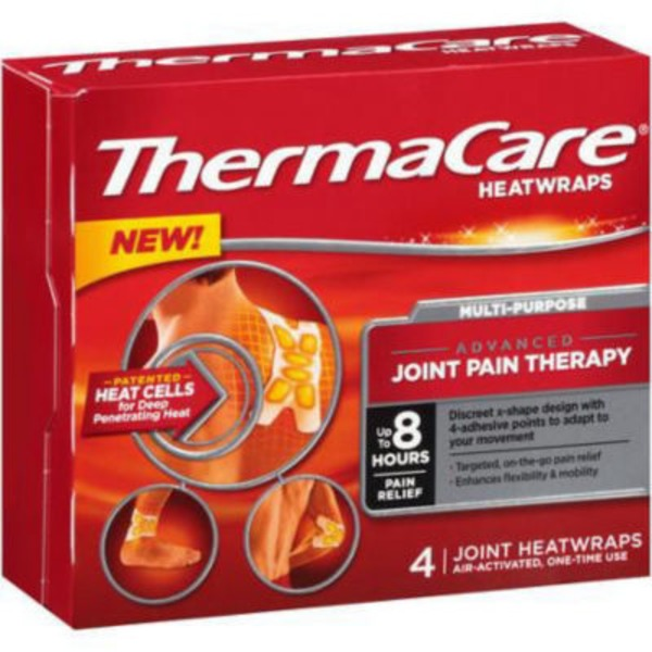 ThermaCare Multi-Purpose Joint Pain Therapy Heatwraps