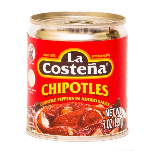 La Costeña In Adobo Sauce Chipotle Peppers