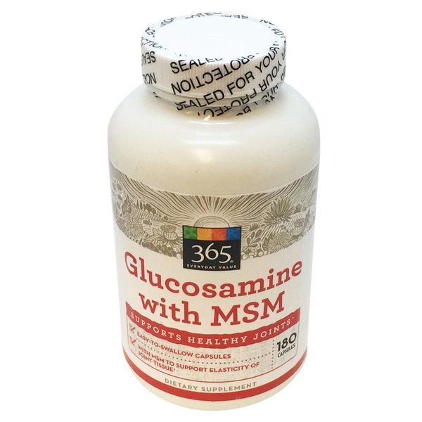 365 Glucosamine With Msm