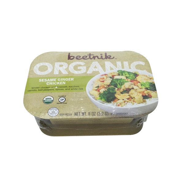 Beetnik Organic Sesame Ginger Chicken