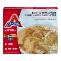 Atkins Roasted Turkey With Garlic Mashed Cauliflower, 9.0 IN