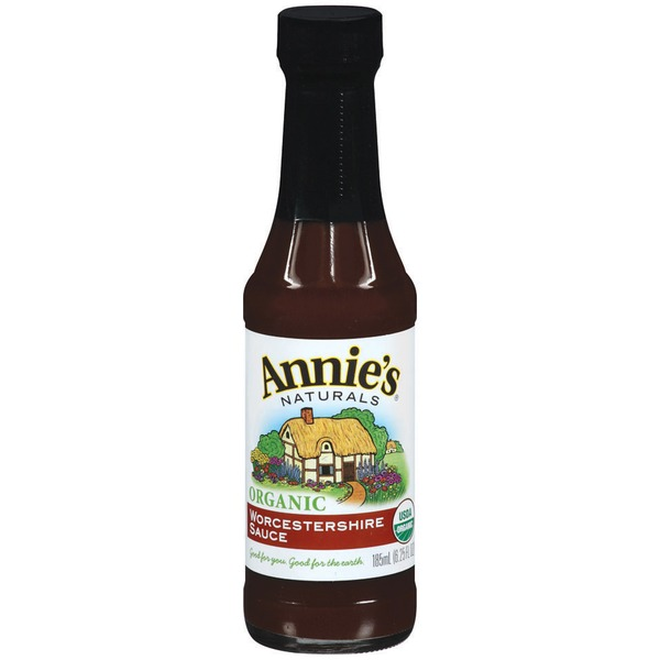Annie's Homegrown Organic Worcestershire Sauce Vegan Worcestershire