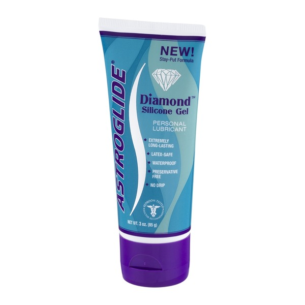 Diamond G Silicone Gel Astroglide Personal Lubricant