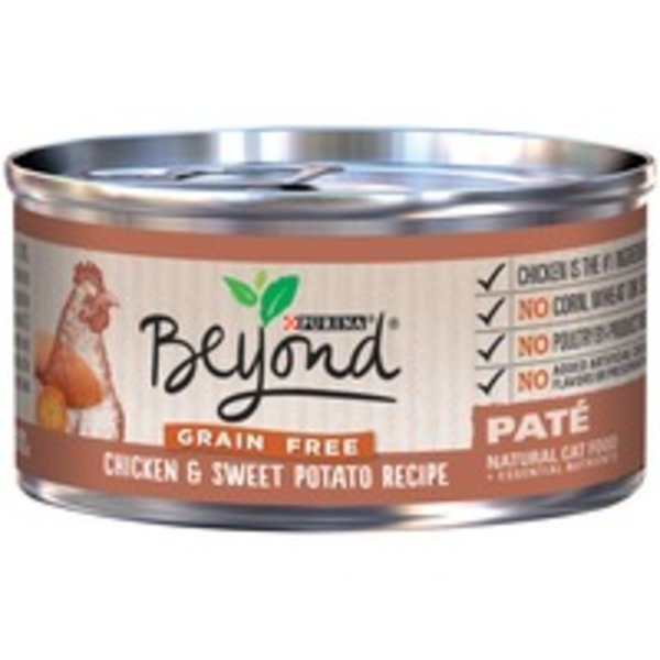 Purina Beyond Cat Wet Grain Free Chicken & Sweet Potato Recipe Cat Food