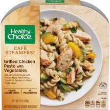 Healthy Choice Cafe Steamers Grilled Chicken Pesto with Vegetables, 9.9 ounces