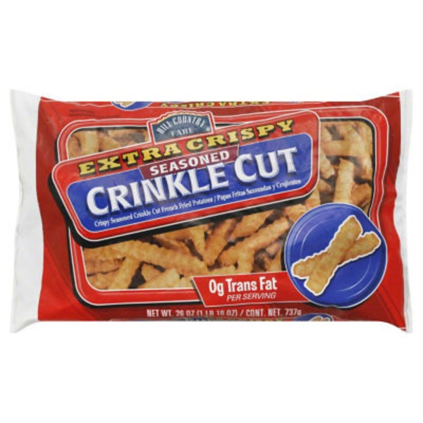 Hill Country Fare Extra Crispy Crinkle Cut Fried Potatoes