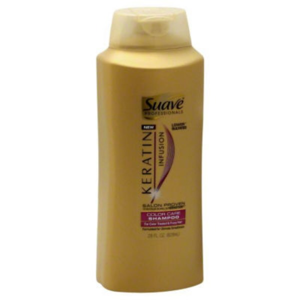 Suave Keratin Infusion Color Care Shampoo