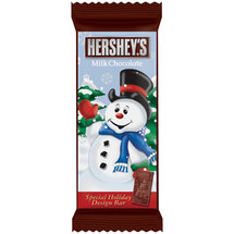 Hershey's Milk Chocolate Snowman Bar