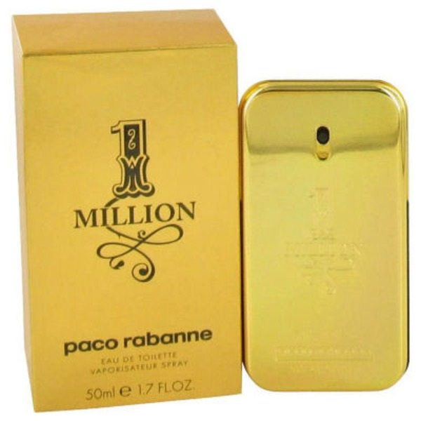 Paco Rabanne 1 Million Eau De Toilette Spray For Men