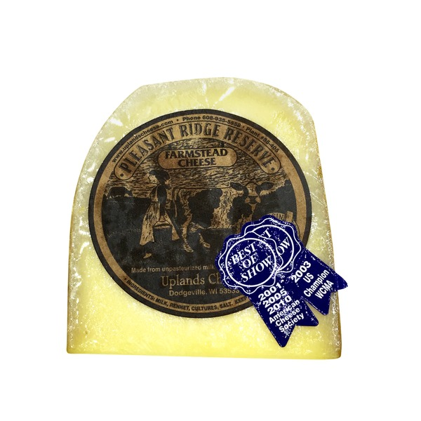 Uplands Pleasant Ridge Reserve Hard Cheese
