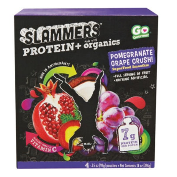 Slammer's Protein Pomegranate Grape Crush