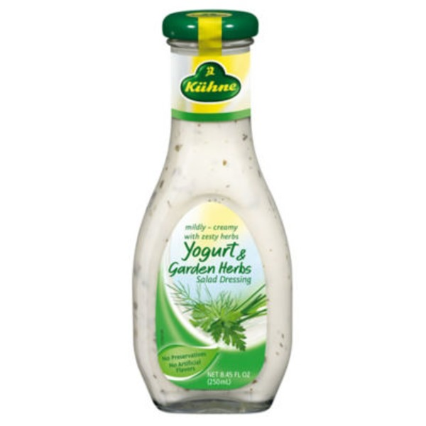 Kuhne Yogurt and Garden Herbs Salad Dressing