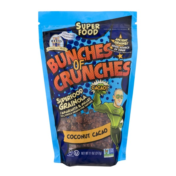 Bakery on Main Bunches Of Crunches Superfood Grainola Coconut Cacao