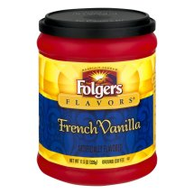 Folgers Ground Coffee French Vanilla, 11.5 OZ