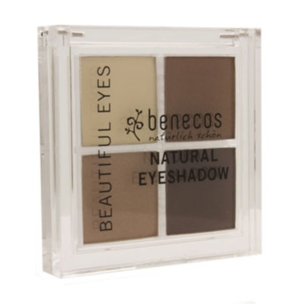 Benecos Natural Quattro Coffee And Cream Eyeshadow