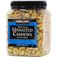 Kirkland Signature Whole Fancy Unsalted Cashews