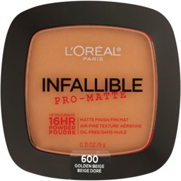 Infallible 600 Golden Beige Pro-Matte Powder
