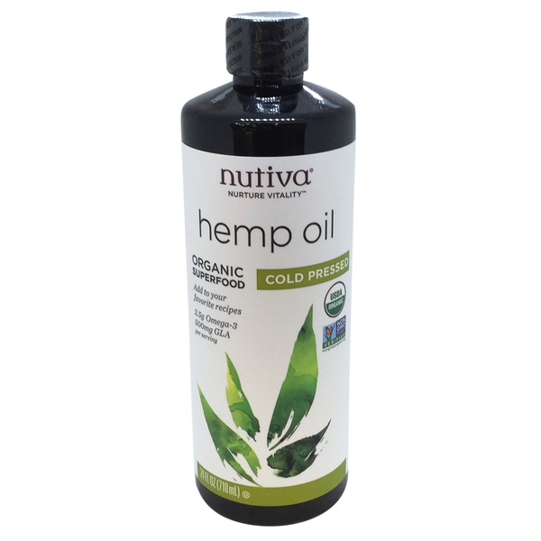 Nutiva Organic Cold Pressed Hemp Oil