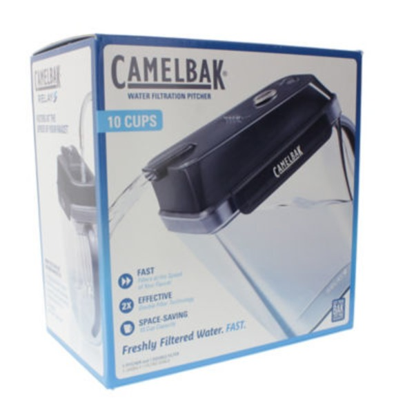 Camel Bak Charcoal 10 Cup Water Filtration Pitcher