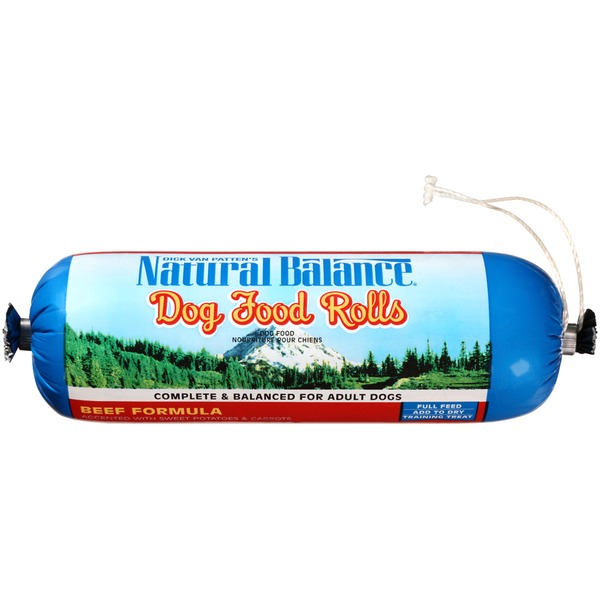 Natural Balance Beef Formula Rolls Dog Food