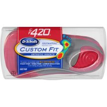 Dr. Scholl's Custom Fit Orthotic Shoe Inserts, CF420