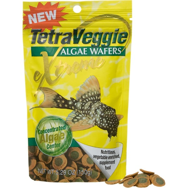 TetraVeggie Algae Wafers Xtreme Concentrated Algae Center
