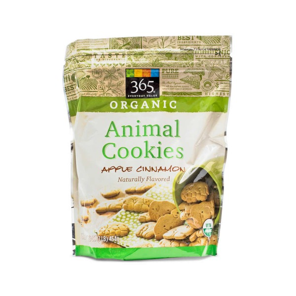 365 Apple Cinnamon Animal Cookies