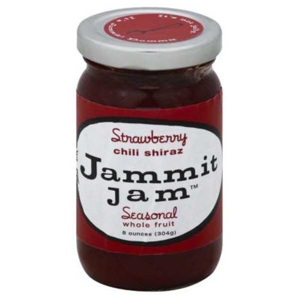Jammit Jam Jam, Strawberry Chili Shiraz, Jar