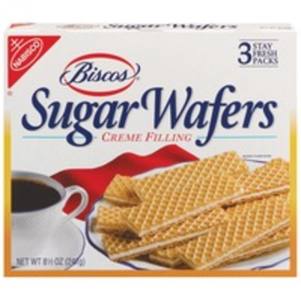 Nabisco Biscos Creme Filling Sugar Wafers