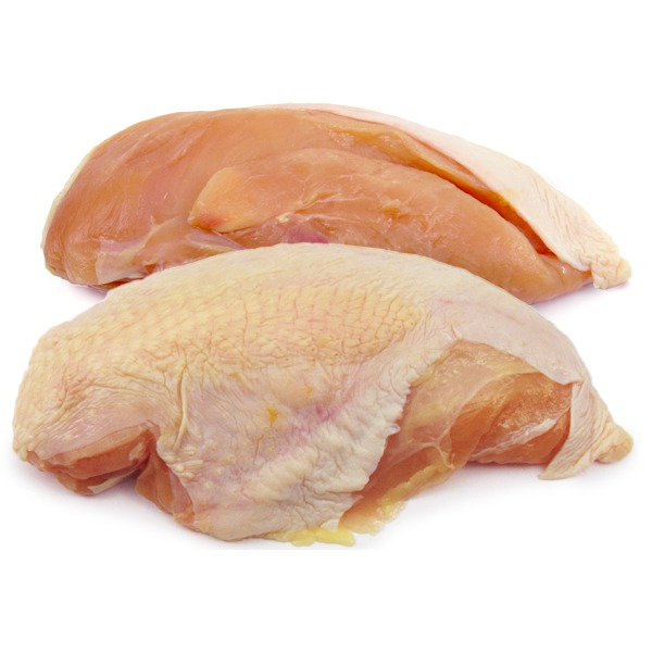 Air Chilled Split Chicken Breasts, Bone-In & Skin-On