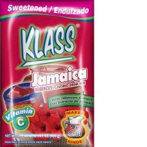 Klass Jamaica Hibiscus Flavored Drink Mix, 15.9 oz